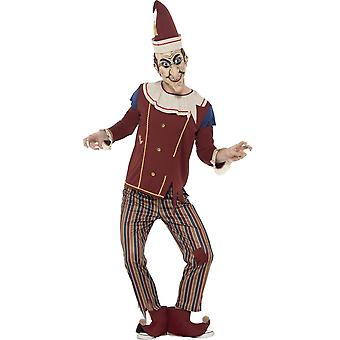 Men costumes  Halloween jester out of box costume
