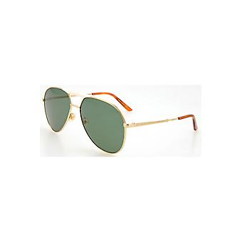 Gucci Green Aviator Sunglasses Gg0242S 003 59