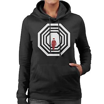 Must Read Book Covers 2001 A Space Odyssey Women's Hooded Sweatshirt