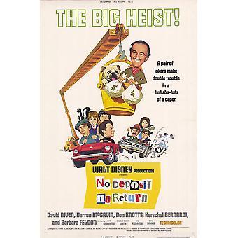 No depósito volver Movie Poster (11 x 17)