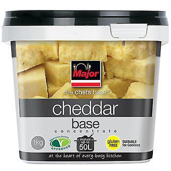 Major glutenfrei konzentriert Cheddar Käse auf Basis