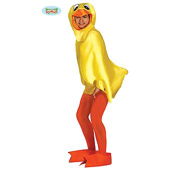 Quietsche Entchen Kostüm für Erwachsene Unisex Ente Karneval