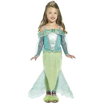 Mermaid Princess Costume, Toddler Age 3-4