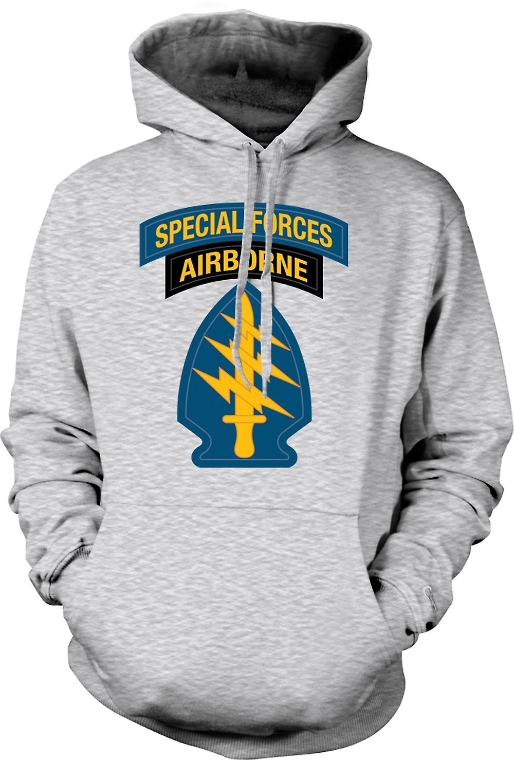 Mens Hoodie - Green Beret Special Forces
