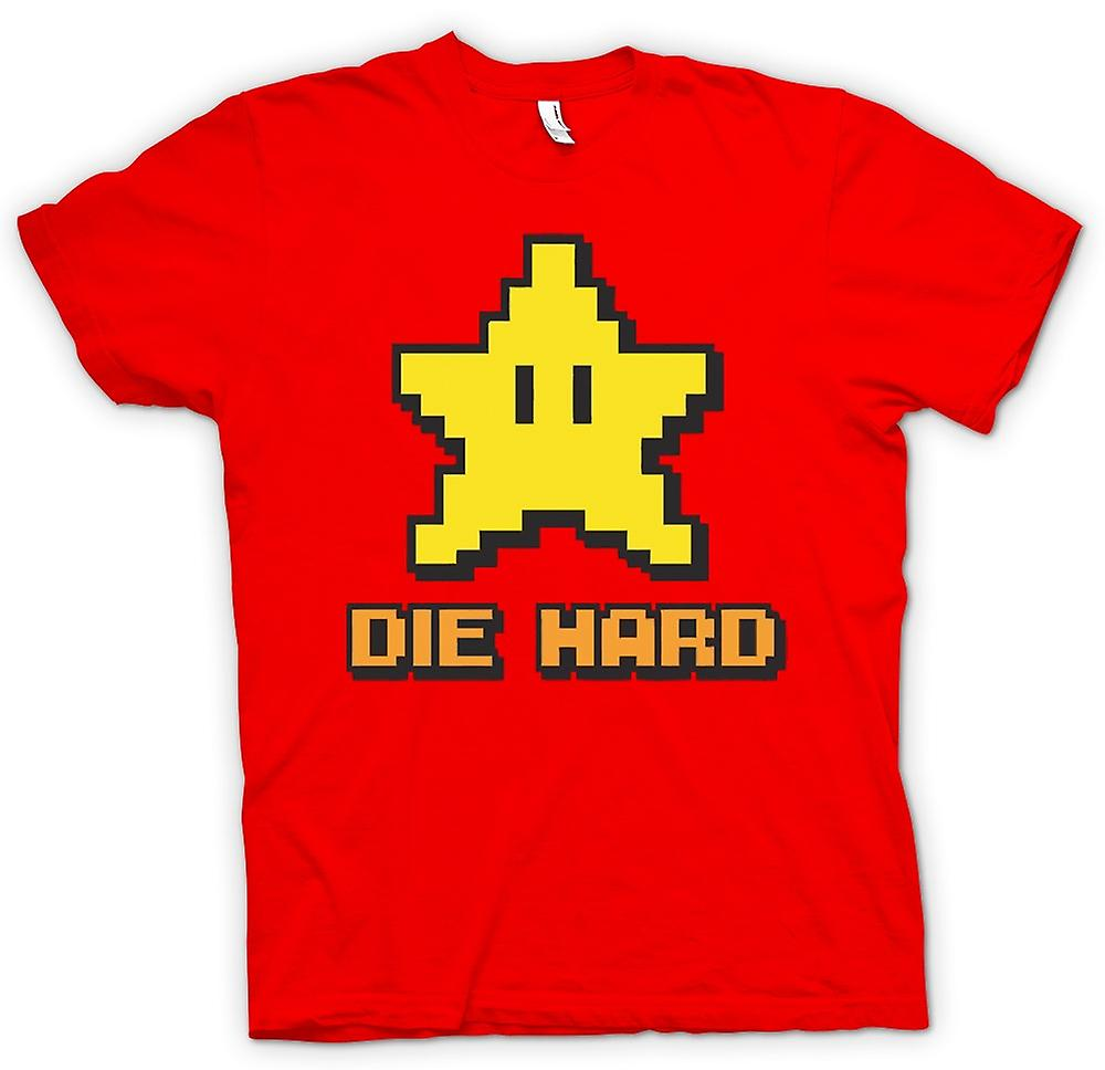 Mens T-shirt - Die Hard - Pacman - Quote