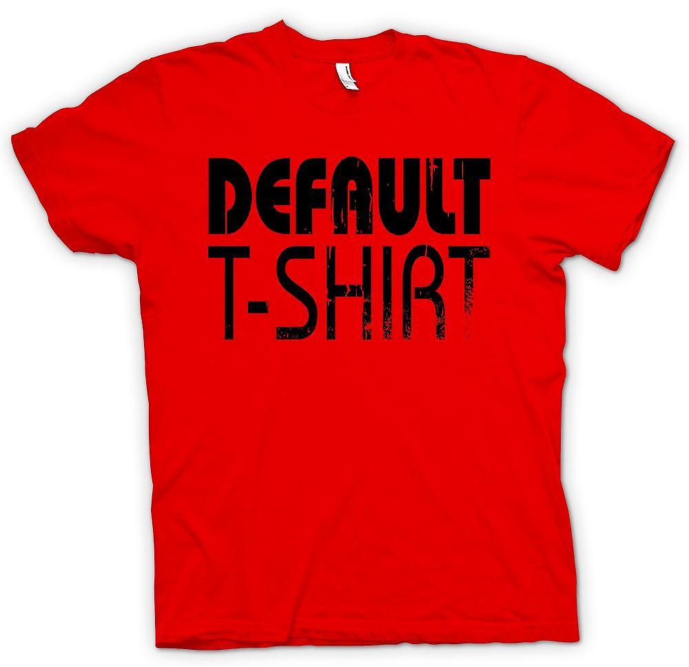 Mens T-shirt - Default T Shirt - Cool Funny