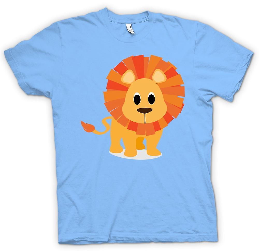 Herr T-shirt - jag älskar Lions - söta djur