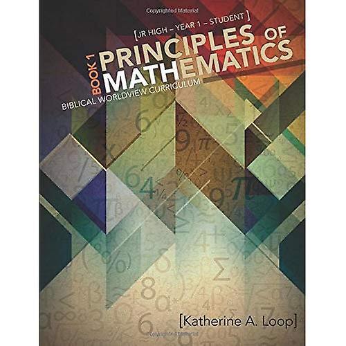 Principles of Mathematics  1