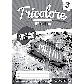 Tricolore 5e dition Grammar in Action Workbook 3 (8 pack) (Tricolore 5th Edition)