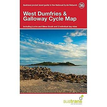 West Dumfries & Galloway Cycle Map 36: Including Lochs and Glens South and 3 Individual Day Rides