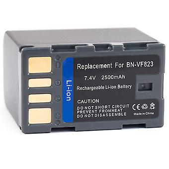 High Capacity Battery for JVC BN-VF823 GZ-HM400 GZ-MG630A GZ-MG630R GZ-MG630S GZHM400 GZ-MS100