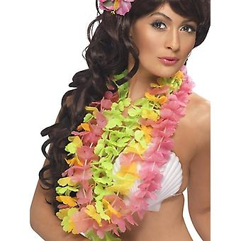 Womens Multi farbige Hawaiian Lei Fancy Dress Zubehör
