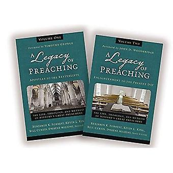 Un héritage de la prédication: deux volumes ensemble---apôtres jusqu'à nos jours: la vie, théologie et méthode des prédicateurs grand de l'histoire