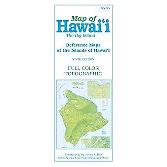 Map of Hawai'i: The Big Island, 9th Edition (Reference Maps of the Islands of Hawai'i)