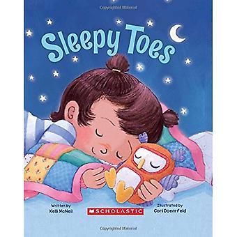 Dedos do pé com sono (um livro de prancha acolchoada)