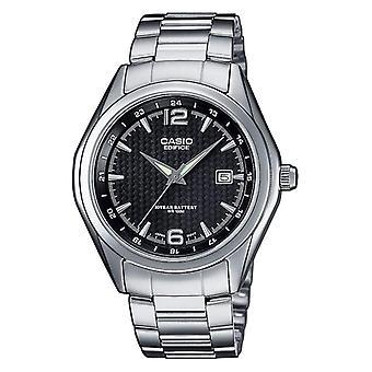 Casio Analog quartz women's watch with stainless steel band EF-121D-1av