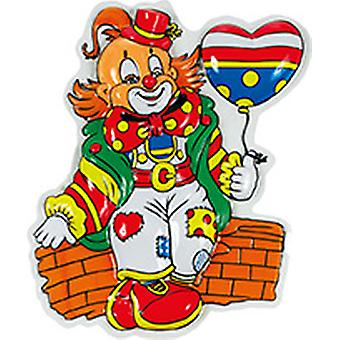 Clown decoration set 3pcs thermoforming image Carnival circus