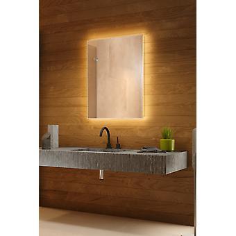 RGB Backlit Mirror with Sensor, Demister, Shaver Socket k707BLrgb