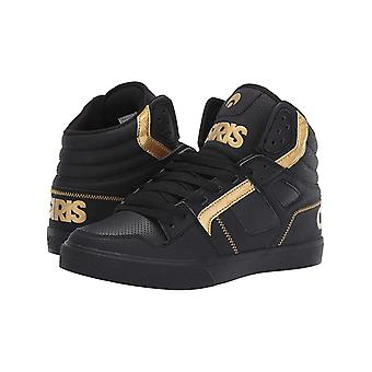 Osiris Black-Black-Gold Clone Shoe