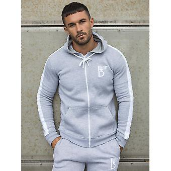 Scale Zipped Tracksuit Hood With Tape Detail | Enzo Designer Menswear