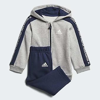Adidas Infant Linear Hooded Fleece - DN8419