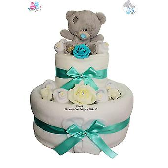 Me to You® Tiny Tatty Ted Nappy Cake Baby Gift (Two Tier)