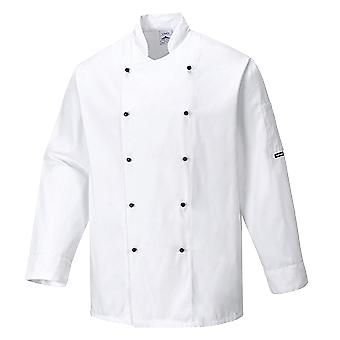Portwest somerset chefs jacket c834