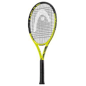 Hode utfordring lite tennis racket Racquet svart/gul