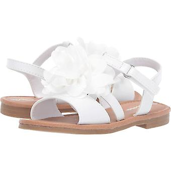 Kids Nina Girls Anaya-T Leather   Ankle Strap Flip Flops