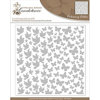 Find It Trading Precious Marieke Embossing Folder-Condolence EMB10001