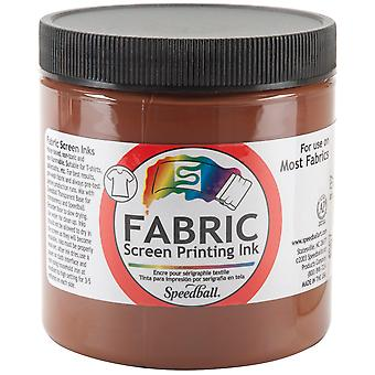 Fabric Screen Printing Ink 8 Ounces Brown Fspi8 4567