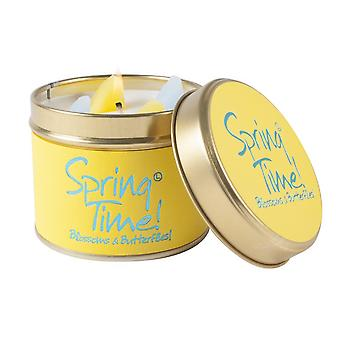 Lily Flame Scented Candle in a presentation Tin - Spring Time!