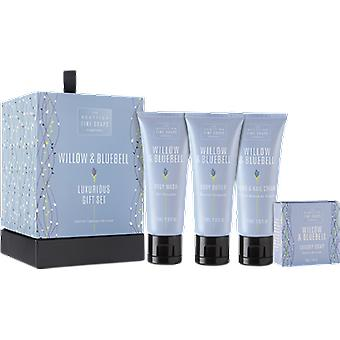 Scottish Fine Soaps Willow & Bluebell Luxurious Gift Set