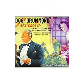 Bulldog Drummond Escapes Movie Poster (11 x 17)