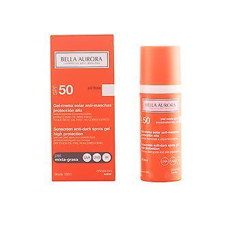 BELLA AURORA SOLAR gel anti-independentemente PMG SPF50