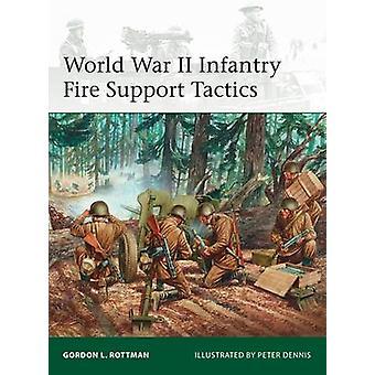 World War II Infantry Fire Support Tactics by Gordon L. Rottman & Peter Dennis