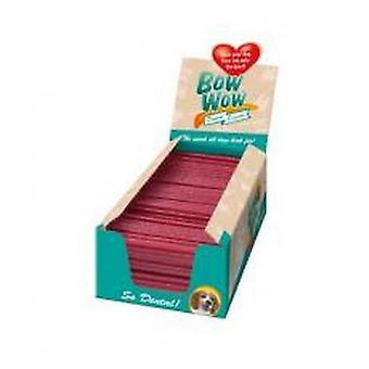 Bow Wow Dental Stick kylling & ris rødbeder Medium (Pack af 28)