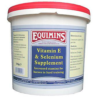 Equimins Vitamin E & Selenium Supplement 3kg
