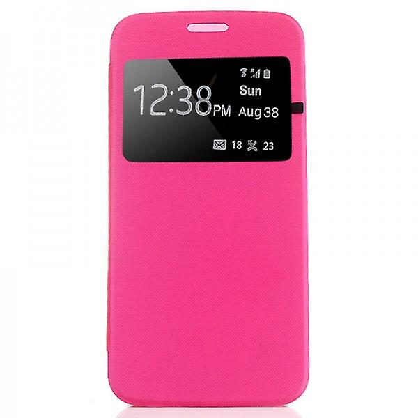 Smart cover window Pink for Samsung Galaxy S6 G920 G920F