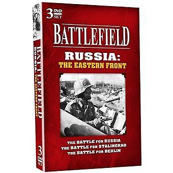 Slagmarken Rusland-Eastern Front [DVD] USA importerer