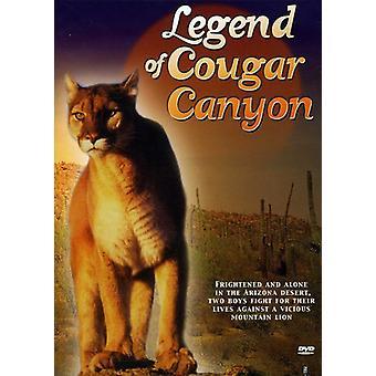 Legenden om Cougar Canyon [DVD] USA import