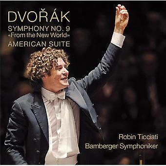 Dvorak / Bamberg Symphony / Ticciati - Symphony No. 9 - American Suite [CD] USA import