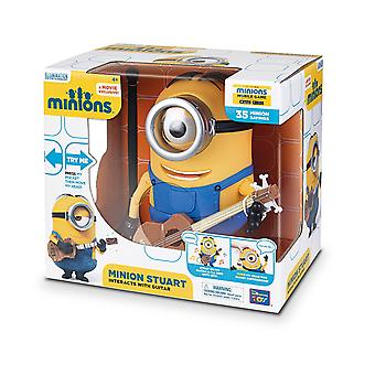 The Minions Interactive Minion Stuart with Guitar