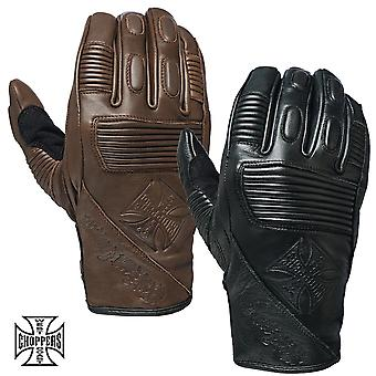 West Coast choppers gloves BFU leather Rinding glove