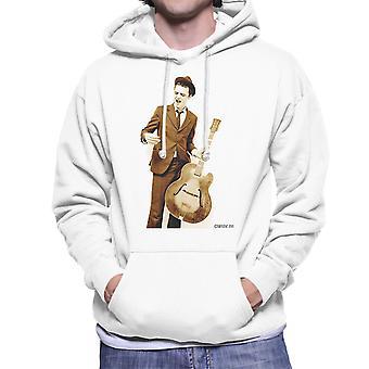 Pete Doherty Guitar Photograph Men's Hooded Sweatshirt
