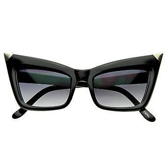 Super Cateye NYC Designer Inspired Fashion Cat Eye Sharp High-Pointed Sunglasses