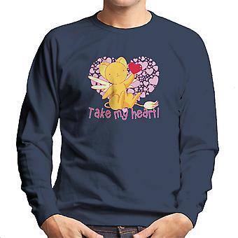 Kero Chan nemen mijn hart Cardcaptor Sakura mannen Sweatshirt