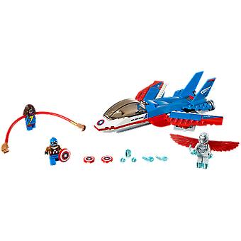 Lego 76076 Captain America Jet Pursuit (Toys , Constructions , Characters And Animals)
