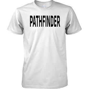 Britse leger Pathfinder - tekst - Mens T Shirt