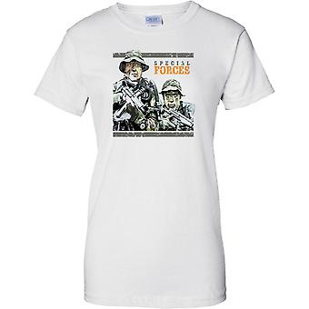 Special Forces CamouFlage Troops - Ladies T Shirt